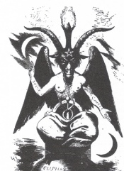 Baphomet, symbol of occultic evil