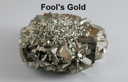 Pyrite aka fool's gold
